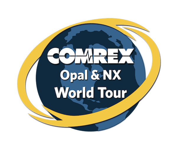 Comrex Opal and NX World Tour